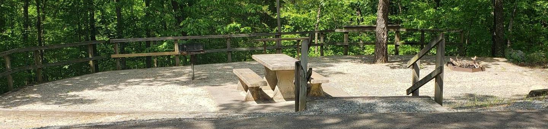Jefferson Ridge Site 80Campsite 80