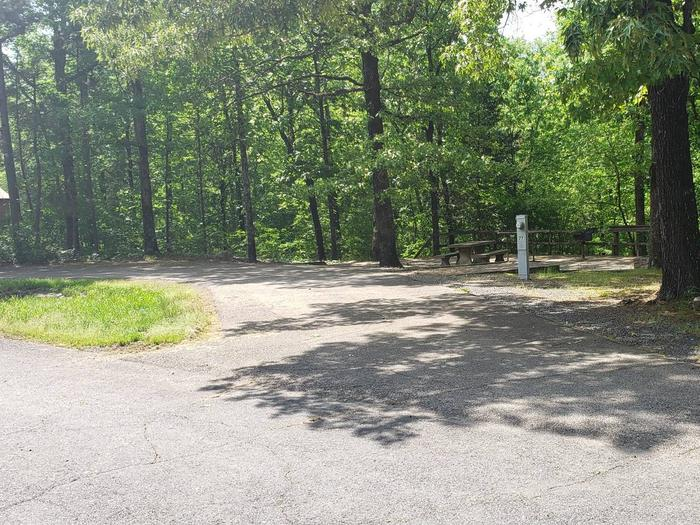 Jefferson Ridge Site 77Campsite 77
