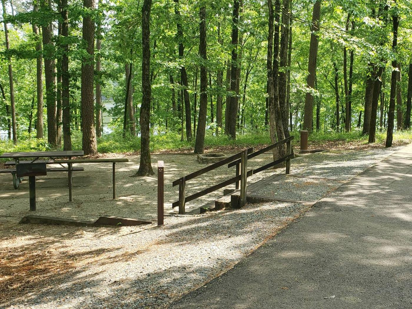 Jefferson Ridge Site 65Campsite 65