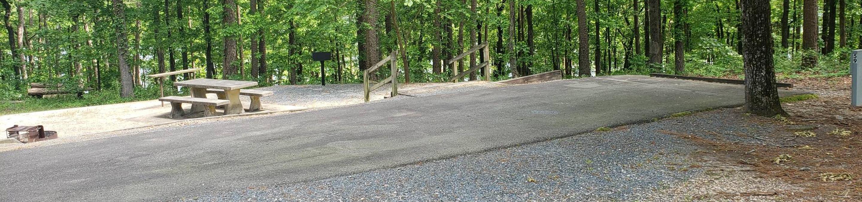 Jefferson Ridge Site 59Campsite 59