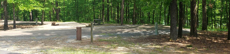 Jefferson Ridge Site 57Campsite 57