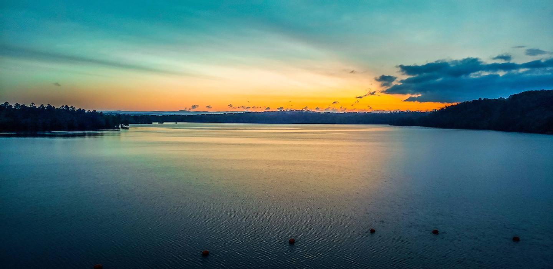 Sunset on Dierks Lake