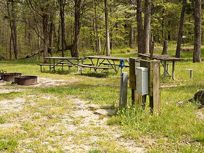 Group/Equestrian Campsite 1Equestrian, Group, RV Site 1 Water/Electric
