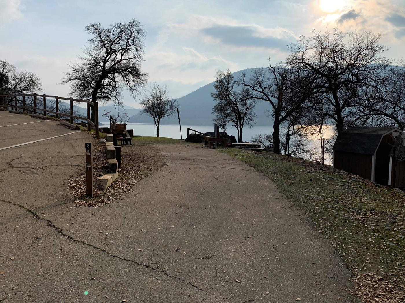 Island Park CampgroundSITE #8 FULL HOOK-UP, WALK-UP ONLY