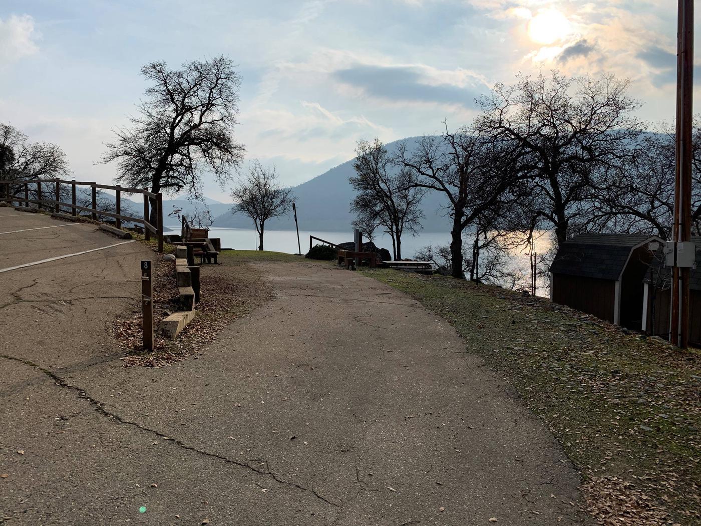 Campsite #8 - Parking