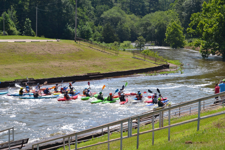 Kayak RaceHometown Throwdown Event
