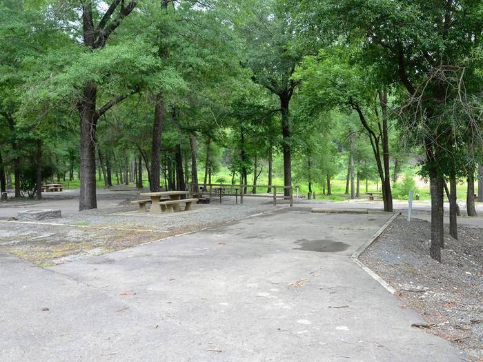Gillham Lake, Big Coon Creek Campsite # 32Campsite #32