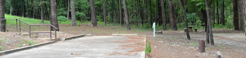 Gillham Lake, Big Coon Creek Campsite # 31Campsite #31