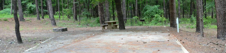 Gillham Lake, Big Coon Creek Campsite # 30Campsite #30