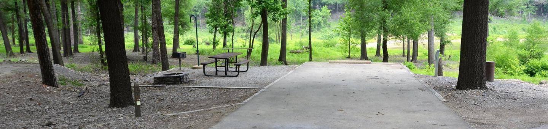 Gillham Lake, Big Coon Creek Campsite # 28Campsite #28