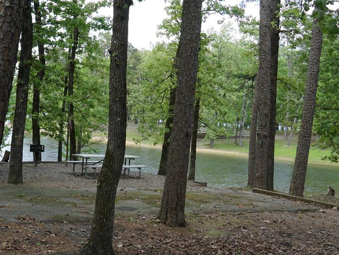 Tompkins Bend Campground, campsite # 35