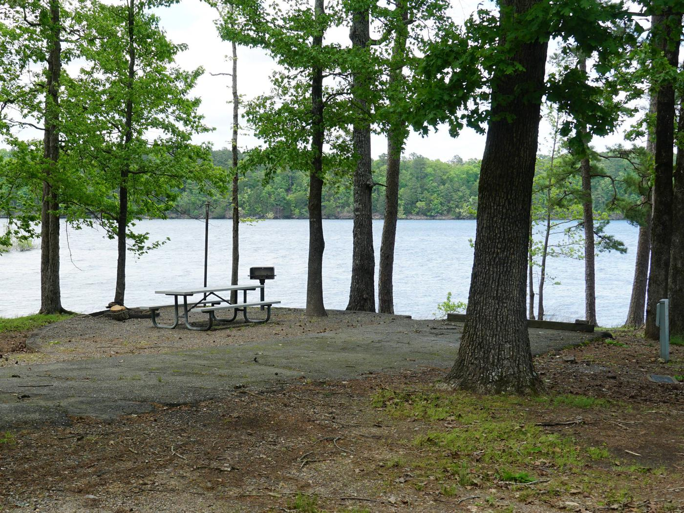 Tompkins Bend Campground, campsite # 38