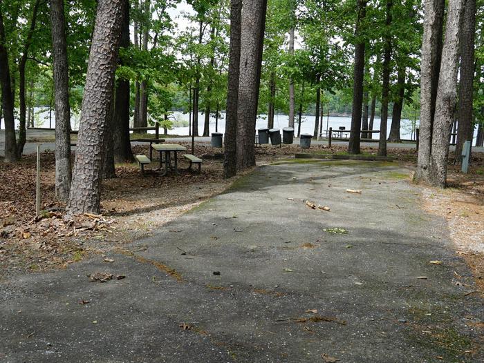Tompkins Bend Campground, campsite # 40