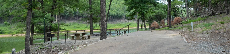 Gillham Lake, Big Coon Creek Campsite # 23Campsite #23