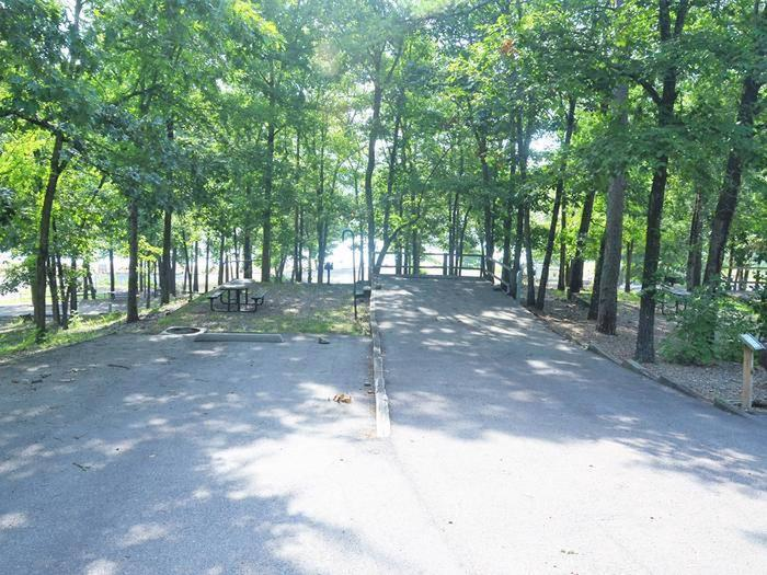 Gillham Lake, Big Coon Creek Campsite # 20Campsite #20