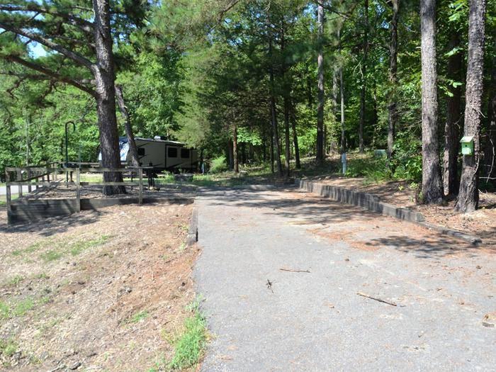 Gillham Lake, Big Coon Creek Campsite # 18Campsite #18