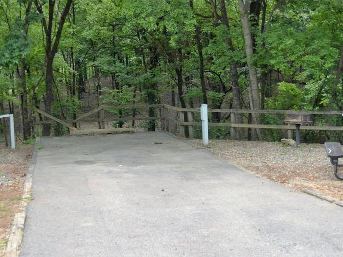 Gillham Lake, Big Coon Creek Campsite # 15Campsite #15