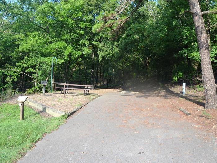 Gillham Lake, Big Coon Creek Campsite # 16Campsite #16