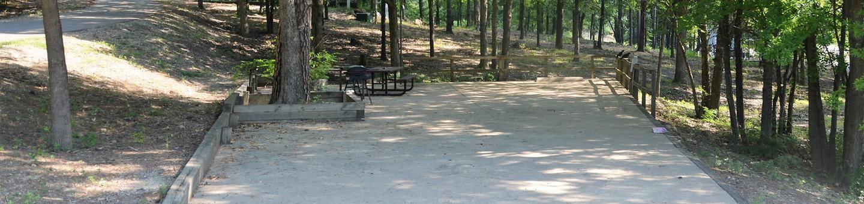 Gillham Lake, Big Coon Creek Campsite # 17Campsite #17