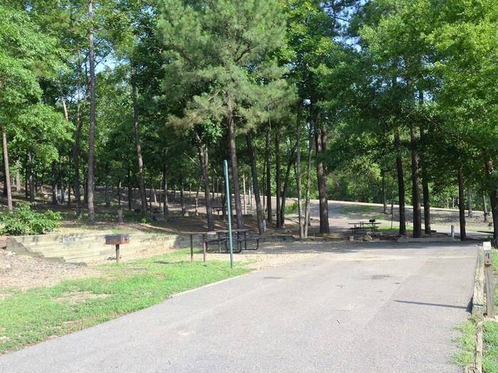 Gillham Lake, Big Coon Creek Campsite # 05Campsite #05