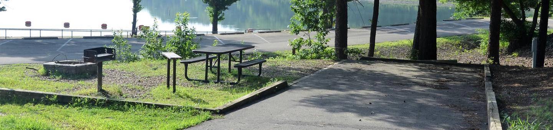 Gillham Lake, Big Coon Creek Campsite # 04Campsite #04