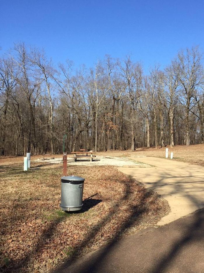 Pat's Bluff Campsite 7