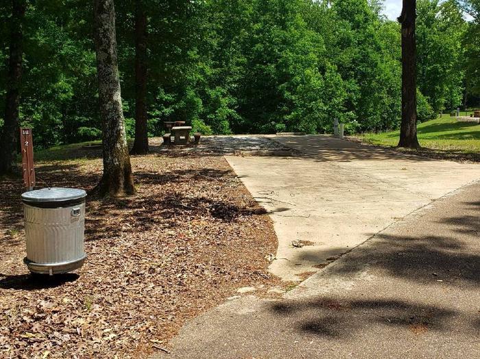 Pat's Bluff Campsite 2