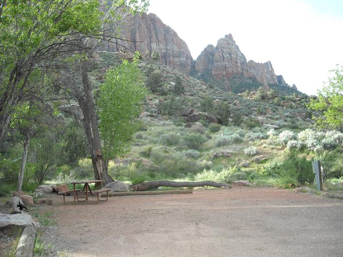 Campsite viewSite B19