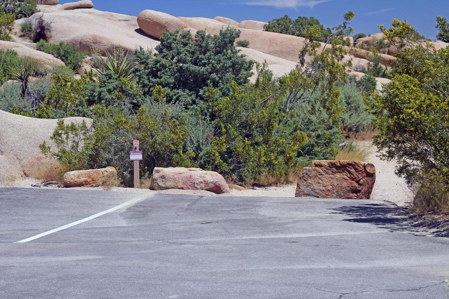 Parking for campsite.