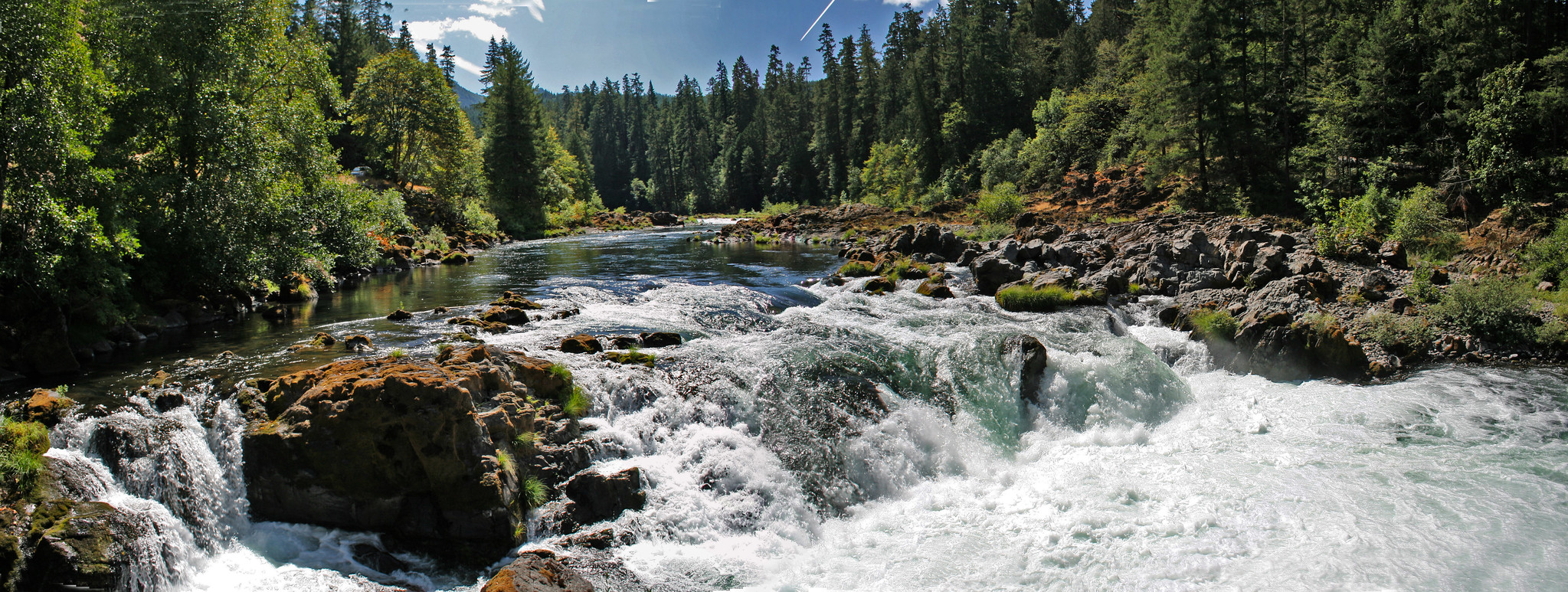 Falls on the North Umpqua Wild and Scenic River