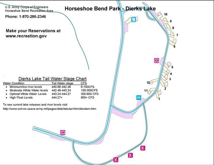 Park MapHorseshoe Bend Park Map