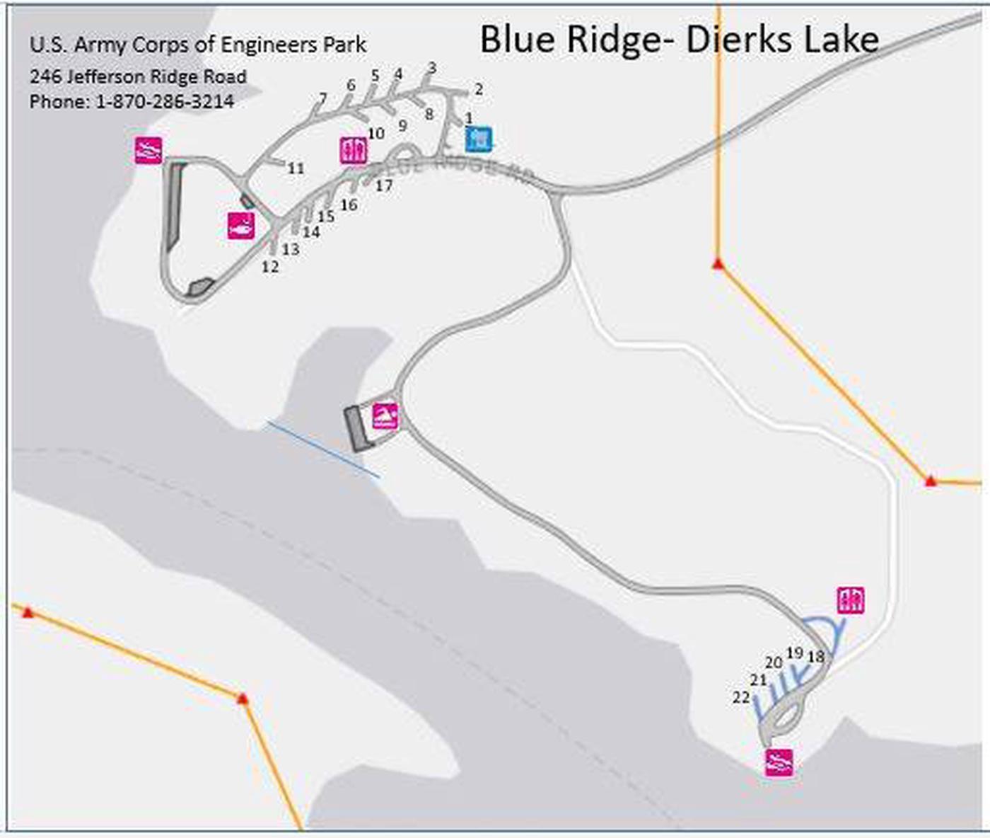 Blue Ridge Park Map