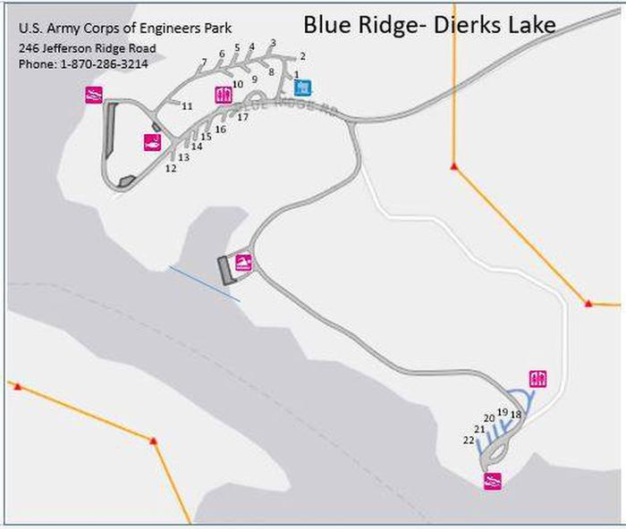 Blue Ridge Park Map