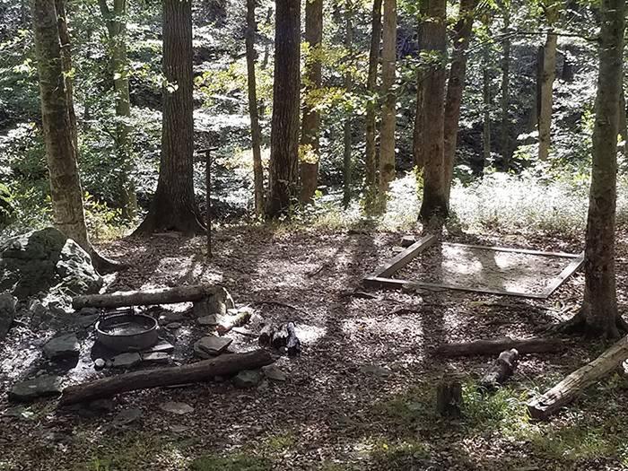 Bluffs Campsite