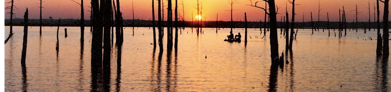 Sunset at Sardis LakeSunset at Sardis  Lake