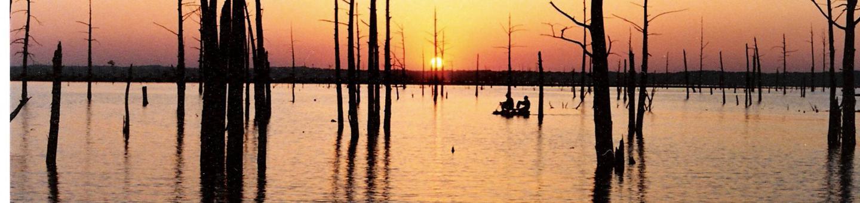 Sardis Lake Sunset