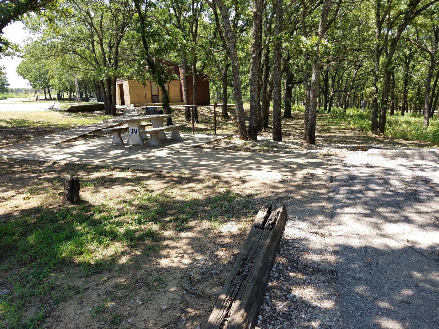 Birch Cove Site 39