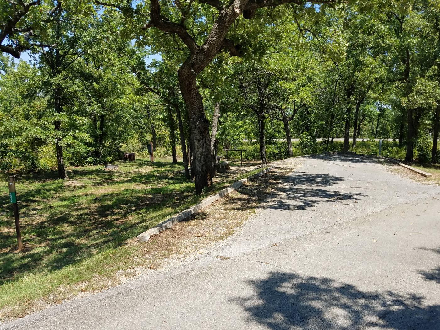 Birch Cove Site 45