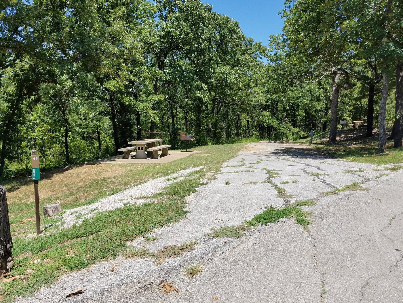 Birch Cove Site 68