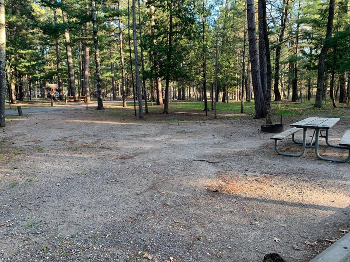 Campsite # 6 BackCampsite #6