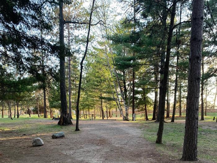 Campsite #15 Full hook up site