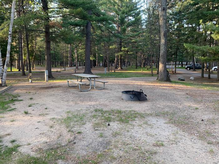 Campsite #15 BackCampsite #15 Full Hook up Site