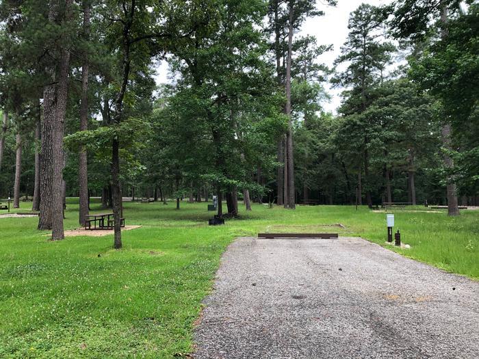 Site 17Inside loop near bathroom facility