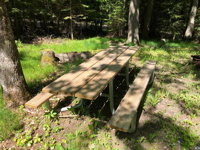 Campsite 1 Picnic Table