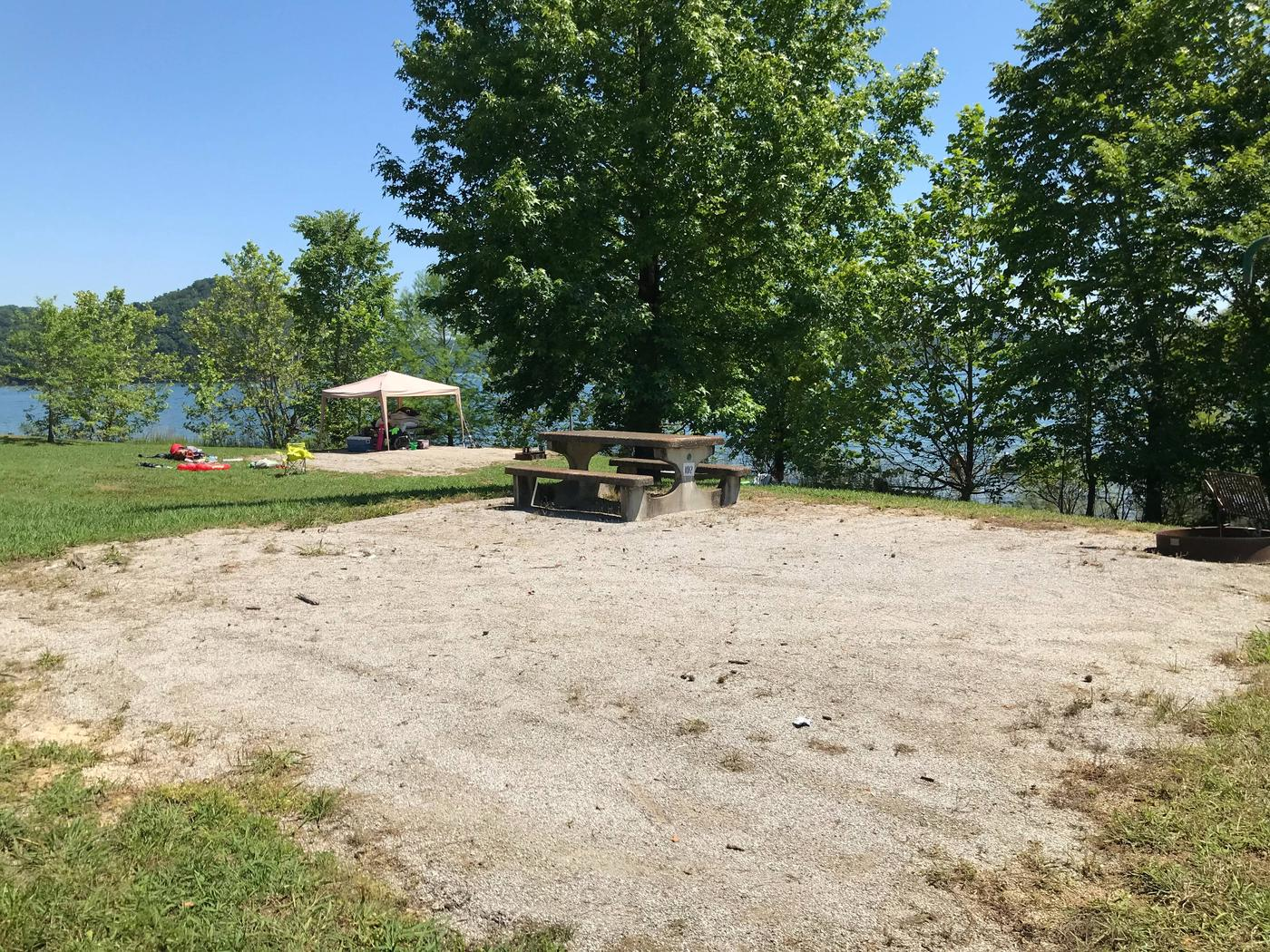 LILLYDALE CAMPGROUND SITE # 102