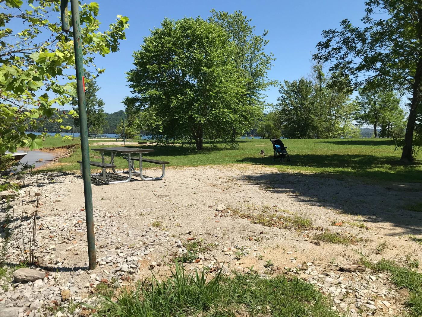 LILLYDALE CAMPGROUND SITE # 113 SIDE VIEWLILLYDALE CAMPGROUND SITE # 113