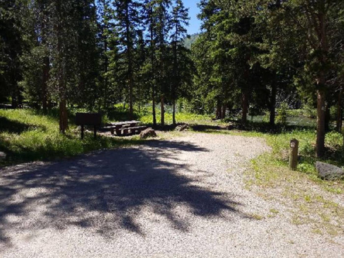 Hunter Peak Campsite 2