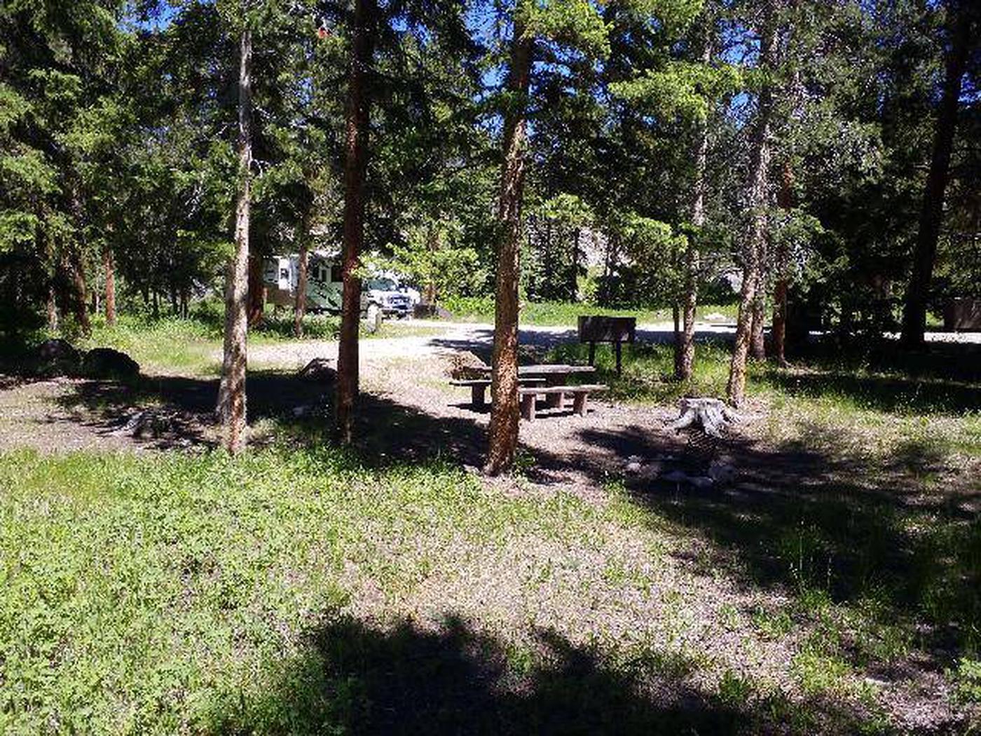 Hunter Peak Campsite 2 Back