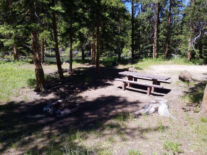 Hunter Peak Campsite 2 Side