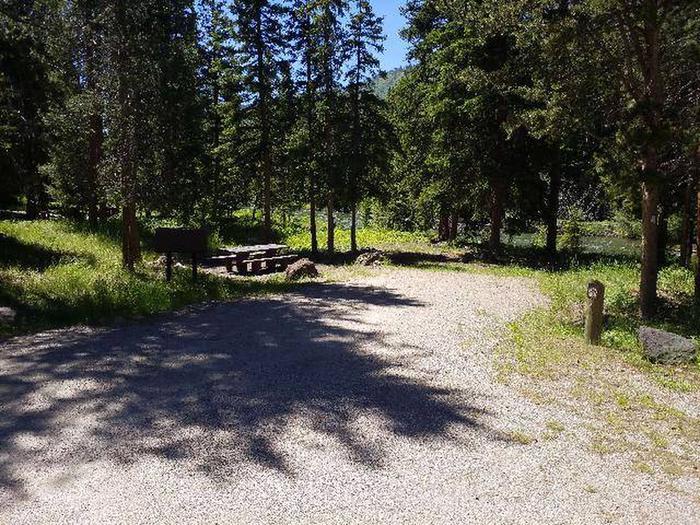 Hunter Peak Campsite 2 Front